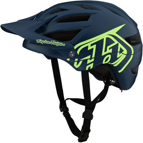 Troy Lee Designs A1 Helmet, drone marine/green